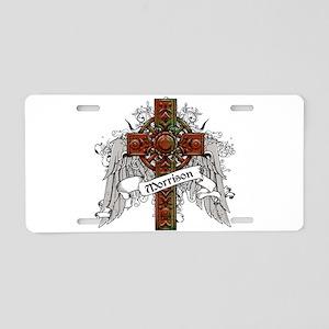 Morrison Tartan Cross Aluminum License Plate