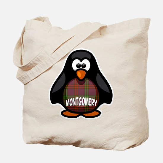 Montgomery Tartan Penguin Tote Bag
