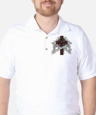 Montgomery Tartan Cross Golf Shirt