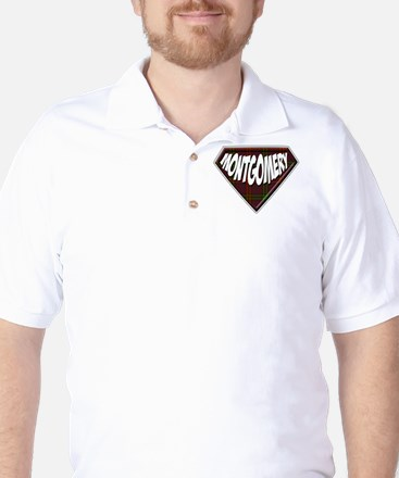 Montgomery Superhero Golf Shirt