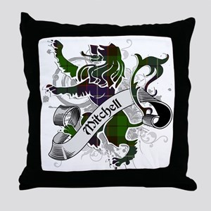 Mitchell Tartan Lion Throw Pillow