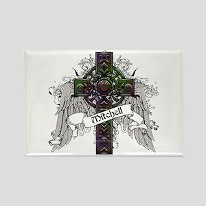 Mitchell Tartan Cross Rectangle Magnet