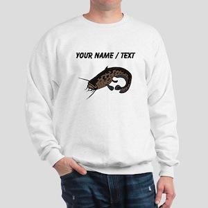 Custom Brown Catfish Sweatshirt