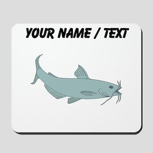 Custom Blue Catfish Mousepad
