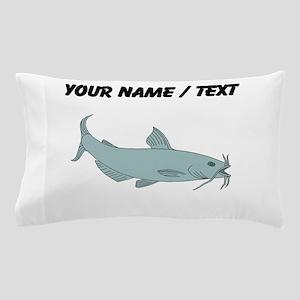 Custom Blue Catfish Pillow Case