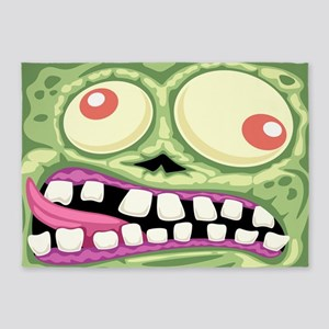 Ghoul Face 5'x7'Area Rug