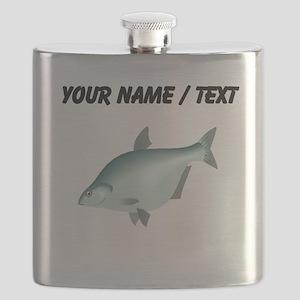 Custom Bream Fish Flask