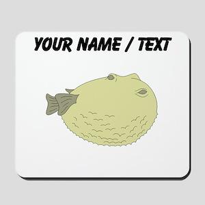 Custom Blowfish Mousepad