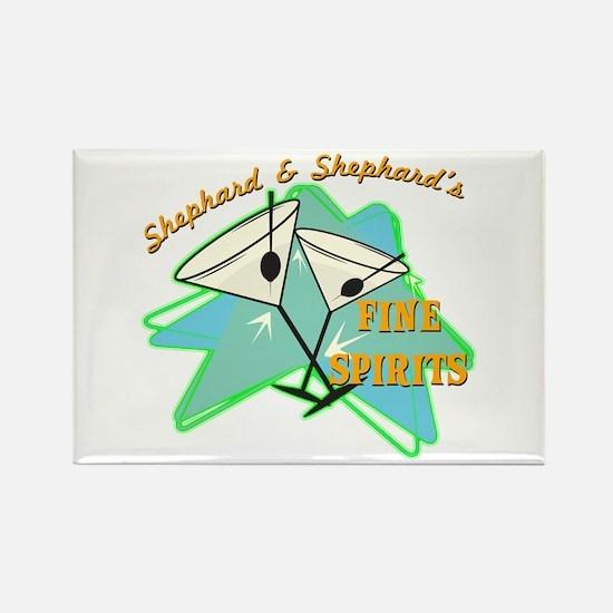 Shephard & Shephard's Rectangle Magnet