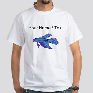 Custom Blue Betta Fish T-Shirt