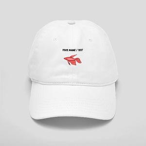 Custom Pink Betta Fish Baseball Cap