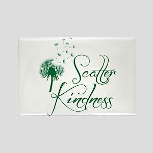 Scatter Kindness Rectangle Magnet Magnets