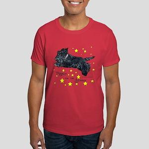 Scottish Terrier Star Dark T-Shirt