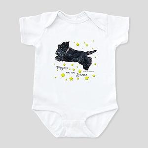 Scottish Terrier Star Infant Bodysuit