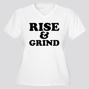 Rise And Grind Plus Size T-Shirt