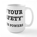 Lab Safety Super Powers Large Mug