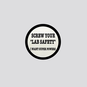 Lab Safety Super Powers Mini Button
