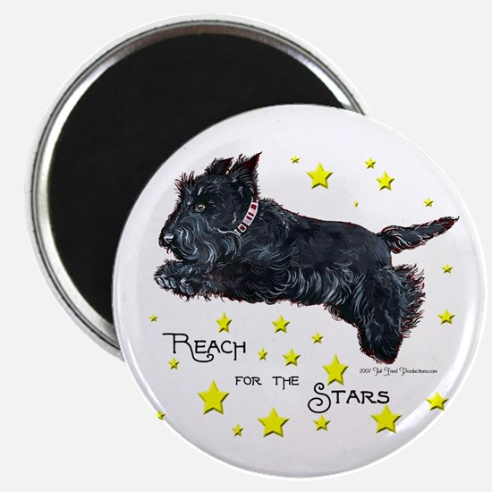 "Scottish Terrier Star 2.25"" Magnet (10 pack)"