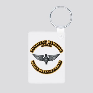 Israel - Duchifat Warrior Aluminum Photo Keychains