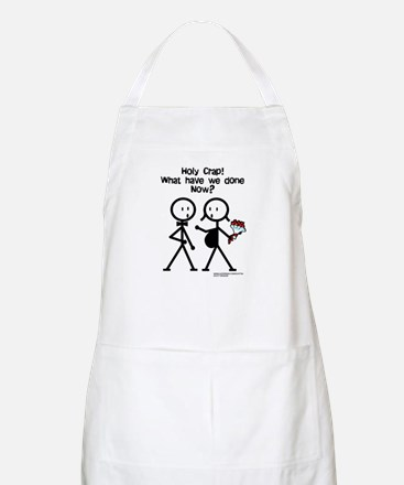 Holy Crap! What Have We Done? BBQ Apron