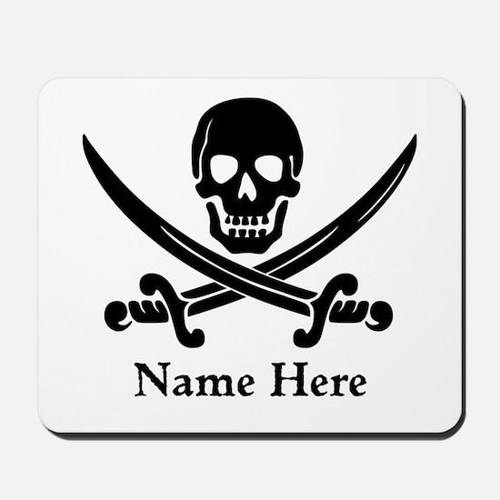 Custom Pirate Design Mousepad