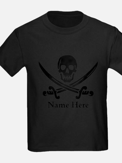 Custom Pirate Design T-Shirt
