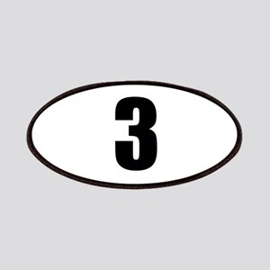 Number Three - No. 3 Patch