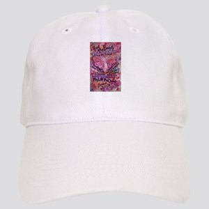 Pink Cancer Angel Cap