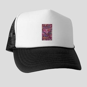Pink Cancer Angel Trucker Hat