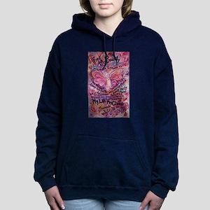 Pink Cancer Angel Women's Hooded Sweatshirt