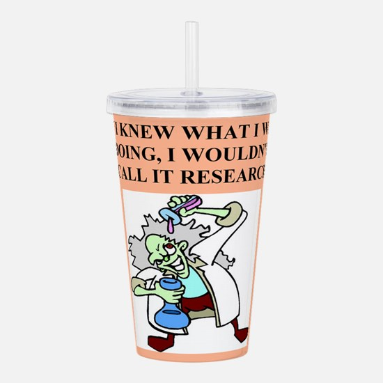 funny mad scientist joke gifts, t-shirts Acrylic D