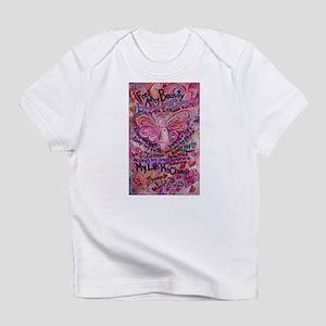 Pink Cancer Angel Infant T-Shirt