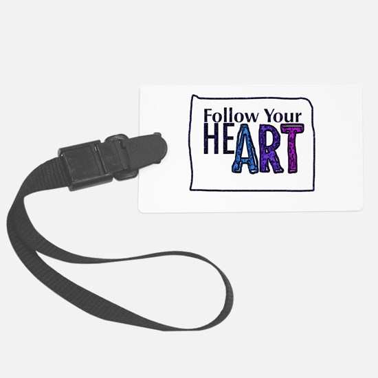 Follow Your Art Luggage Tag