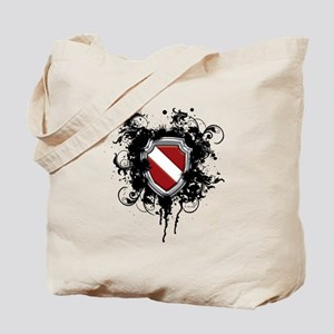 SCUBA Shield (Grunge) Tote Bag