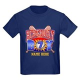 Baseball 7th birthday t Kids T-shirts (Dark)