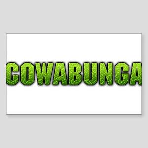 cowabunga Sticker