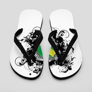 Nitrox Dive Shield (Grunge) Flip Flops