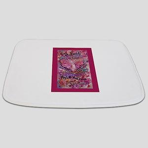 Pink Cancer Angel Bathmat