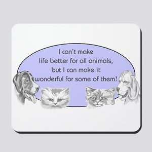 Better Pet Life Mousepad