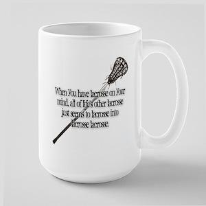 Lacrosse on your mind Mugs