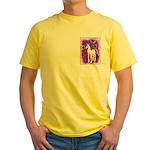 Sunflower Unicorn Yellow T-Shirt