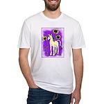 Sunflower Unicorn Fitted T-Shirt
