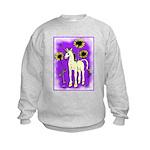 Sunflower Unicorn Kids Sweatshirt