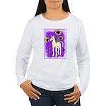 Sunflower Unicorn Women's Long Sleeve T-Shirt