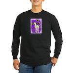 Sunflower Unicorn Long Sleeve Dark T-Shirt