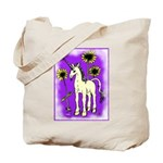 Sunflower Unicorn Tote Bag