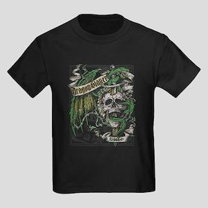 Dragon Slayer Crest Kids Dark T-Shirt