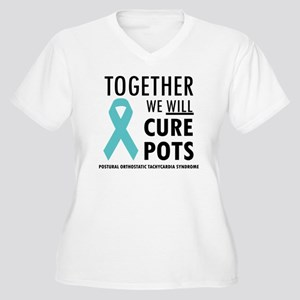 bdb1aafe64742 Postural Orthostatic Tachycardia Syndrome Women s Plus Size T-Shirts ...