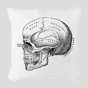 Anatomical Woven Throw Pillow