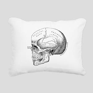 Anatomical Rectangular Canvas Pillow